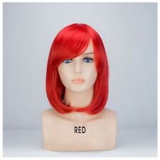 Ladies Womens Fancy Dress Wig Bob Style Full Short Hair Wig Party Cosplay 1464