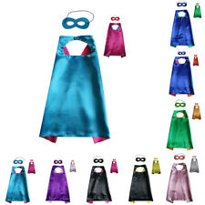 Superhero Cape (1 cape+1 mask) for kid birthday party favors and ideas Halloween