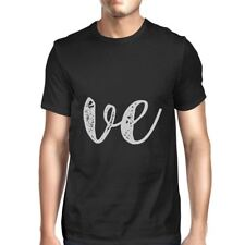 Love Heart Family Mom, Dad, and Baby Black Shirt