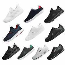 Mens Fila Heritage Classic Casual Lifestyle Trainers - From