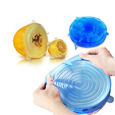 Silicone Saran Food Wrap Lid-bowl Pot Lid-silicon Stretch Lids Silicone Cover