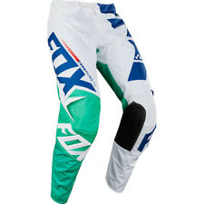 Fox Racing NEW Mx 2018 180 Sayak Green Blue White Motocross Dirt Bike Pants