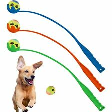 Pet Dog Tennis Ball Launcher Thrower Chucker Puppy Training Exercise Outdoor Toy