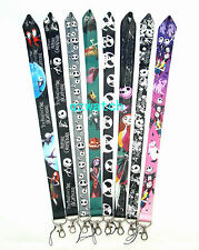 Lot The Nightmare Before Christmas Lanyard Cell Phone PDA Key ID strap Wholesale