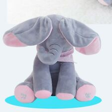 Elephant Plush Toy Sing & Play Elephant Stuffed Toys Interactive Funny Baby Doll