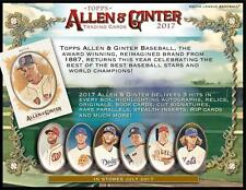 2017 Allen and Ginter Complete Your Set Pick the Cards You Want PART 1