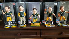 Aaron Rodgers Green Bay Packers NFL Bobbleheads Pick Your Favorite Bobblehead
