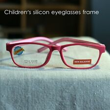 New Children's silicon eyeglasses frame RX optical pink eyewear Girl Boy Myopia