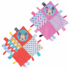 Mickey & Minnie Mouse Overlap Collection Comforter -Taggie Blanket New