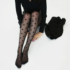 New Style Pantyhose Women Tights Big Dots Seamless Sexy Sheer Stocking Current