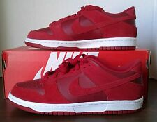 NEW NIKE GRADE SCHOOL(BIG KIDS') GYM RED/WHITE DUNK LOW SHOES SZ 7Y 310569 605