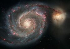 Whirlpool Galaxy and Companion (Classic Image from Outer Space)