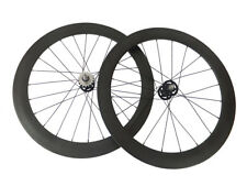 Factory Price Track Fixed Gear 38+50mm Tubular Carbon Wheels Road Bike Wheelset