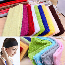 Woman/Man Sizable Cotton Headbands Hair Wraped Bands Yoga/Gym/Workout Sweatbands