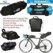 ROSWHEEL Waterproof Bike Tail Bottle Bag Bicycle Tail Pannier Seat Saddle Bag EW