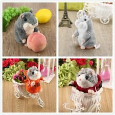 Cute Talking Hamster Plush Toy Hot Speak Talking Sound Record Toy EW