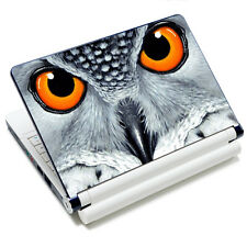 "Gray Owl Sticker Skin Netbook Decal Cover For 7"" 8"" 9"" 10"" 10.1"" 10.2"" Laptop PC"