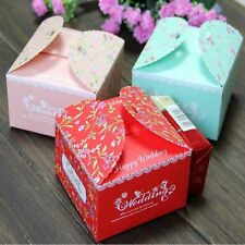 Floral Candy Boxes Sweet Paper Box Wedding Favor Boxes Gift Box Party Supplies v