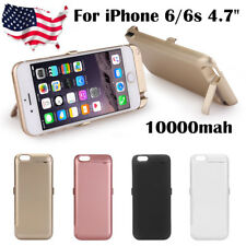 10000mah External Battery Power Bank Charger Case for Apple iPhone 6/6s 4.7''