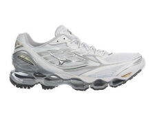 NEW WOMENS MIZUNO WAVE PROPHECY 6 RUNNING SHOES TRAINERS WHITE / SILVER / GOLD
