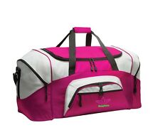 Cheer Personalized - Colorblock Sport Large Duffle Bag Great For The Gym Or Tra