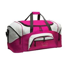 Crown Personalized - Colorblock Sport Large Duffle Bag Great For The Gym Or Tra