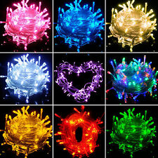 10/20/30/50/100M LED Xmas Christmas Tree Fairy String Light Party Wedding Garden