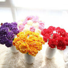 1 Branch Bridal Carnation Home Decoration Wedding DIY Bouquet Silk Flowers Craft
