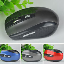 NEW Fashion Optical Wireless Cordless Game Mouse Mice USB Receiver for PC Laptop