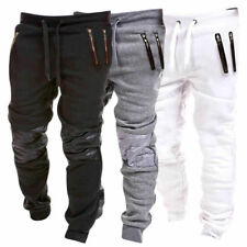 Plus Size M~3XL Mens Casual Sports Pants Slim Jogger Baggy Slacks Gym Trousers