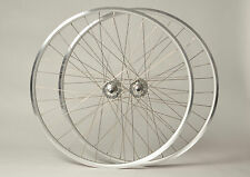 SSC Single Speed Wheels 700c Silver | Track Wheels | Fixed Gear Flip Flop Hub