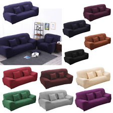 Elastic fitted stretch sofa covers sofa couch slip covers settee 1 2 3 4 seater