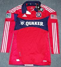Adidas Men's MLS Chicago Fire Home Player Issue Soccer Jersey, Size 12(XXL)