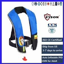 Automatic Inflatable PFD  Life Jacket Vest 150N Eyson Neck Type for Adult