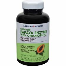 American Health Papaya Enzyme With Chlorophyll Chewable - 600 Chewable Tablets