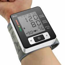 Automatic Wrist Blood Pressure Monitor Digital sphgmomanometer LCD Screen meter