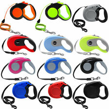 Dog Retractable Leash Traction Rope S M L No Tangle Walking Extendable Leads New