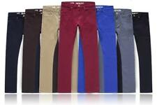 New Mens SD Chino Cotton Straight Jeans All Waist & Length Sizes Avail 7 Colours