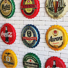 Tin Metal Beer Bottle Caps Sign Poster Plaque Bar Pub Club Wall Home Decor