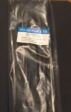 Black Cable Ties Electrical Nylon 66 Cable Ties 2.5-4.8 x 150 200 300mm (100pcs