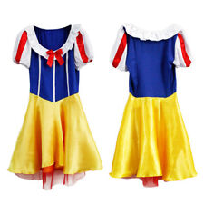 Sexy Ladies Snow White Costume Adult Fairytale Fairy Tale Fever Fancy Dress