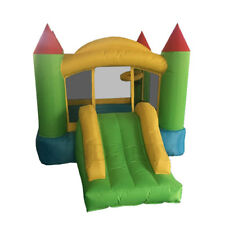 8Cube Buddy Kid Inflatable Bouncer Bouncy Castle Jumping House with Slide Basket