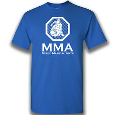 MMA  cage only Mixed Martial Arts Mens T Shirt Training  Cage Fighting Clothing
