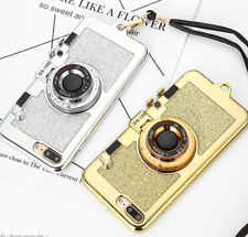 Fashion Camera stand holderPhone Cases For iPhone 7 6 6s Plus Case