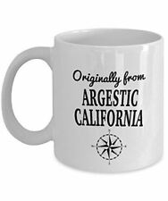 TV Show Mug - Originally from Argestic, California - Cool Ceramic Coffee Mug for