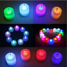 Flameless LED Chrismas Candle Flickering Tea Light Battery Wedding Candles