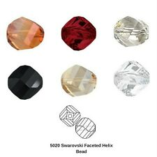 Swarovski Crystal 5020 8MM Faceted Helix Bead 36 Pieces 7 Colors FREE SHIPPING