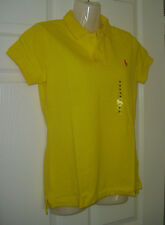 Ralph Lauren The Skinny Polo for ladies in bright yellow 2 sizes RRP: 85 GBP