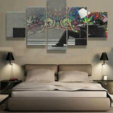 Art Trippy Psychedelic Painting Abstract Modern Canvas Wall Poster Home Decor