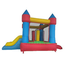 Child Kids Inflatable Bouncy Castle Jumping Bouncer Jump House with Slide Basket